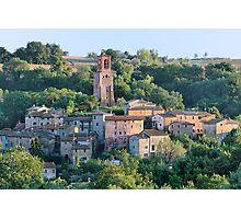 Medieval Borgo Papiano Photographic Print
