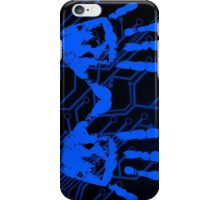 Blue Handprint iPhone Case/Skin