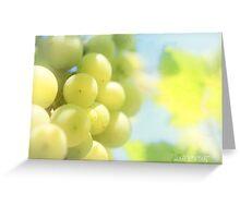 Vineyard magic Greeting Card