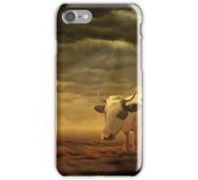 Pig and cow hybrid iPhone Case/Skin