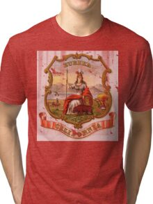 Vintage California State Seal Tri-blend T-Shirt
