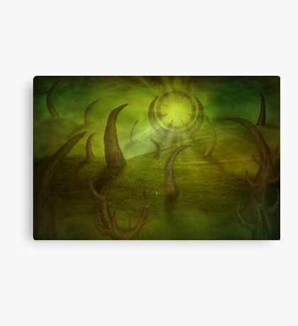 Time travel portal Canvas Print