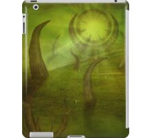 Time travel portal iPad Case/Skin