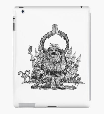Yeti Yoga iPad Case/Skin