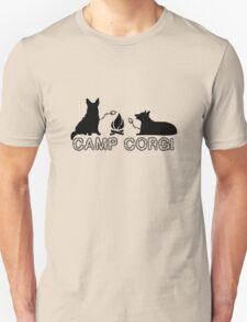 Camp corgi geek funny nerd T-Shirt