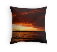 North Yorkshire From The Sea Throw Pillow