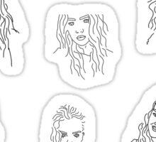 Perrie Pattern Sticker