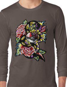 Seviper-pokemon tattoo collaboration Long Sleeve T-Shirt