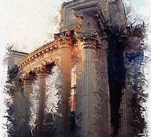 Palace of Fine Arts - Column Detail by jeffrey freeman
