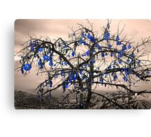 Protected from all evil eyes (Wish Tree) Canvas Print
