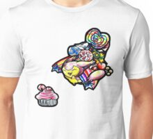 Skitty in candyland! Unisex T-Shirt