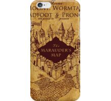 Marauders Map,Harry Potter iPhone Case/Skin