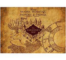 Marauders Map,Harry Potter by MorenoSteve