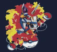 Rapidash - Pokemon Tattoo Inspiration One Piece - Short Sleeve