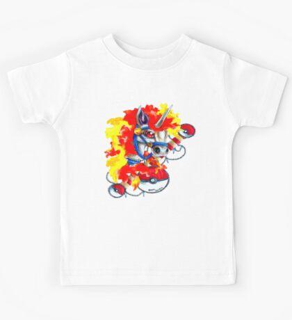Rapidash - Pokemon Tattoo Inspiration Kids Tee