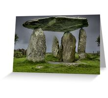 Pentre Ifan 2, Pembrokeshire, Wales Greeting Card