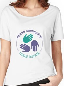 Official Mixed Connective Tissue Disease Logo Women's Relaxed Fit T-Shirt