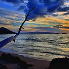 Sunset On Makena Bay by DJ Florek