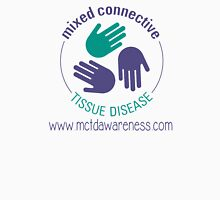 Official Mixed Connective Tissue Disease Logo with Website Unisex T-Shirt