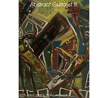 ABSTRACT GUITARIST III Photographic Print