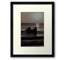 """""""Row Row Row your Boat"""" Framed Print"""