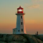 Peggys Cove Lighthouse by oceaNSedge