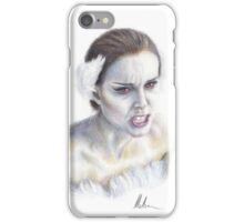 Natalie Portman as Nina Sayers / The Black Swan iPhone Case/Skin