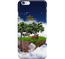 Flying land iPhone Case/Skin