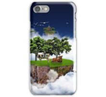 Flying land iPhone Case/Skin