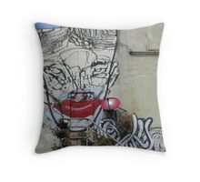 Lister Gets a Makeover Throw Pillow
