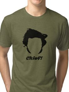 Guy Martin Silhouette Design Tri-blend T-Shirt