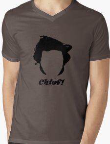 Guy Martin Silhouette Design Mens V-Neck T-Shirt