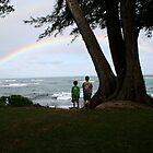 Admiring a Rainbow by Nina Hofstadler