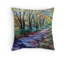 'Autumn Canopy' Throw Pillow