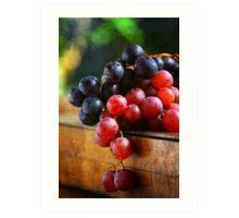 Grapes - Vertical Art Print