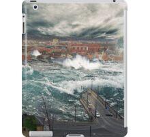 Flooding in Kaunas iPad Case/Skin