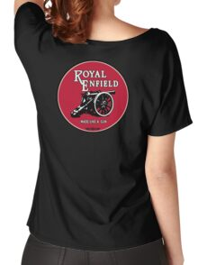 Classic Motorcycle Logos - Royal Enfield Women's Relaxed Fit T-Shirt