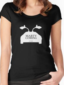 Marty is Coming Women's Fitted Scoop T-Shirt