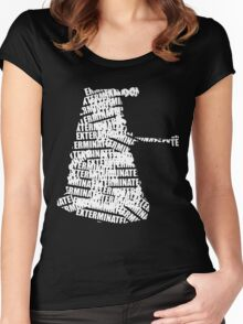 Exterminate V.2 Women's Fitted Scoop T-Shirt
