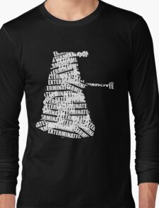 Exterminate V.2 Long Sleeve T-Shirt