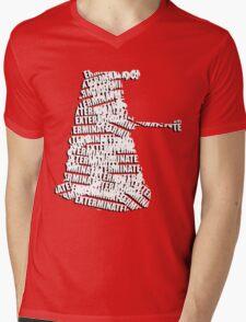 Exterminate V.2 Mens V-Neck T-Shirt