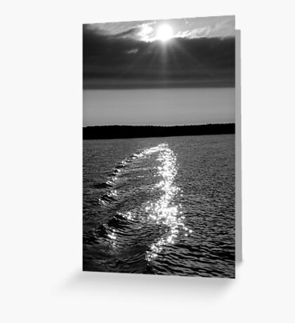 Evening Light - Tobermory Greeting Card