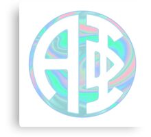 Alpha Phi Hologram Circle Canvas Print