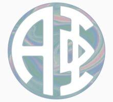 Alpha Phi Hologram Circle by katiefarello