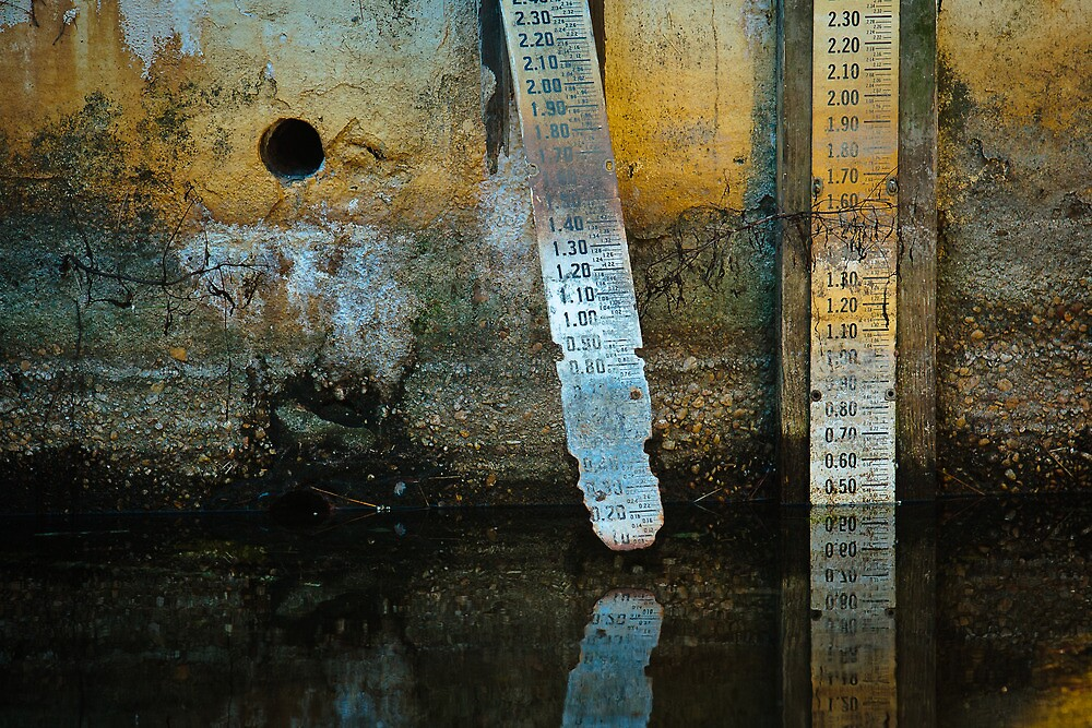 Low water by Dennis Baker