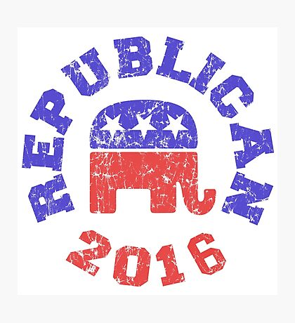 Republican 2016 Photographic Print