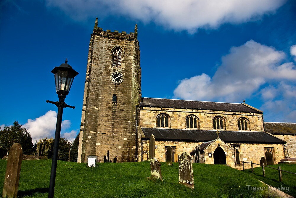 All Saints Church - Nafferton, East Yorkshire by Trevor Kersley
