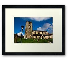 All Saints Church - Nafferton, East Yorkshire Framed Print