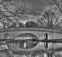 The Grove Bridge No 164 on G U Canal, Watford by Chris Thaxter