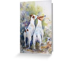 Double Trouble!! Greeting Card